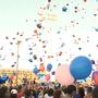 Balloon launch honors brother and sister killed in automobile accident
