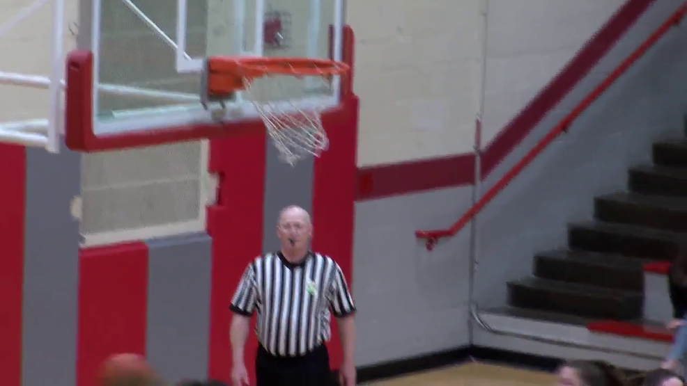 2.26.20 Highlights - Monroe Central vs Bishop Rosecrans - Girls' Basketball District Semi