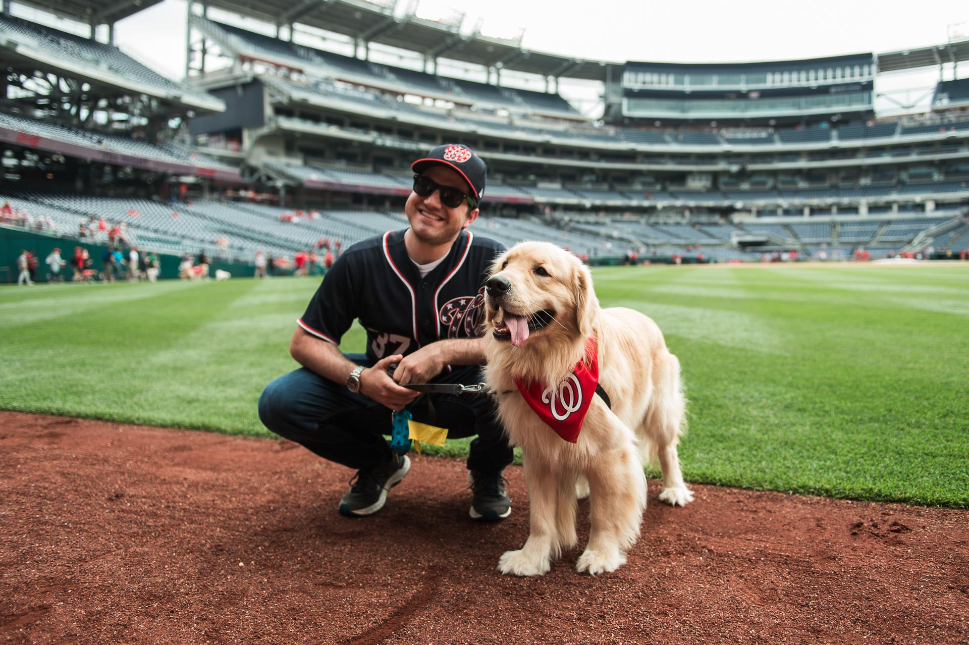 Skip the dog park and come to Nationals Park for the first Pups in the Park of the season.(Image: Paul Kim/Washington Nationals)