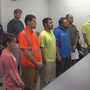 6 suspects charged in man's death appear in bond court