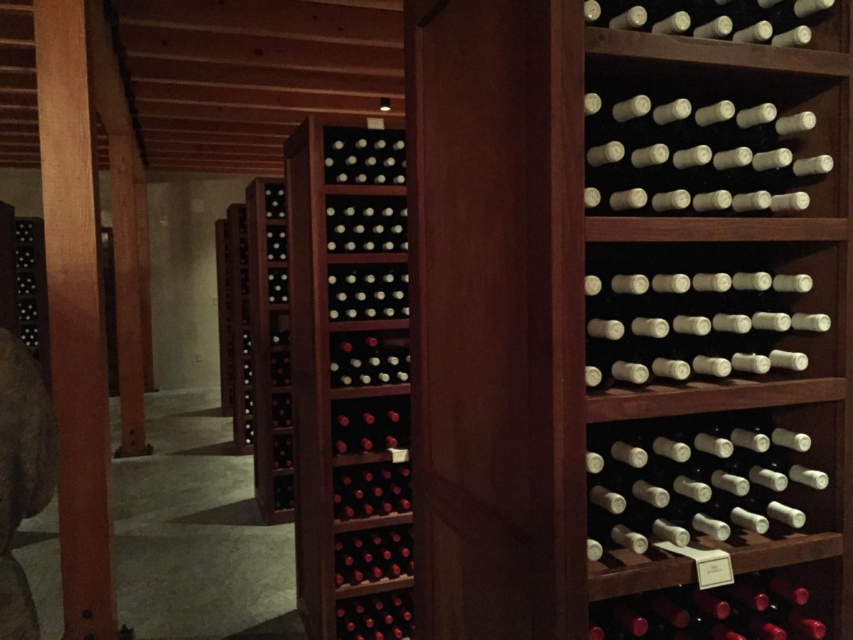 Woodward Canyon's Cellar Room. (Image: Frank Guanco)
