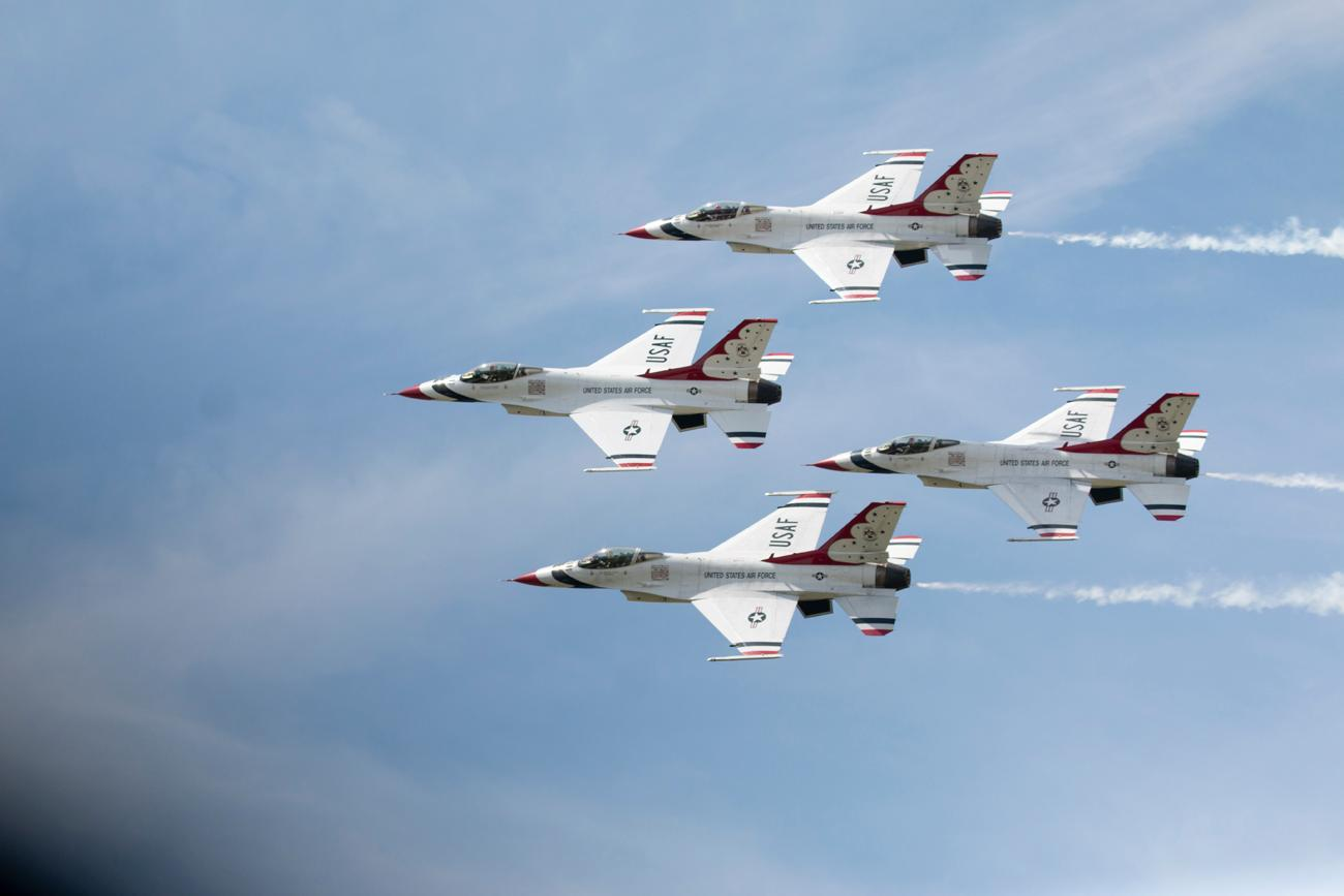 U.S. Air Force Thunderbirds / Image: Dr. Richard Sanders // 6.24.18