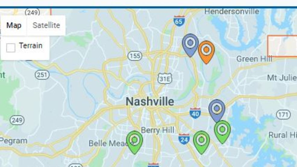 Hundreds affected by Nashville power outages | WZTV