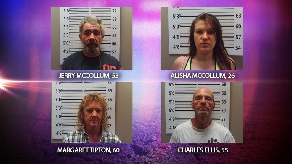 Meth, marijuana discovery leads to four NEMO arrests | KTVO