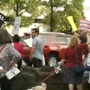 Dozens of people gather in Nashville to protest Trump Administration