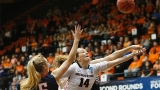 Gonzaga women upset Ore. State 76-64, advance to the Sweet 16