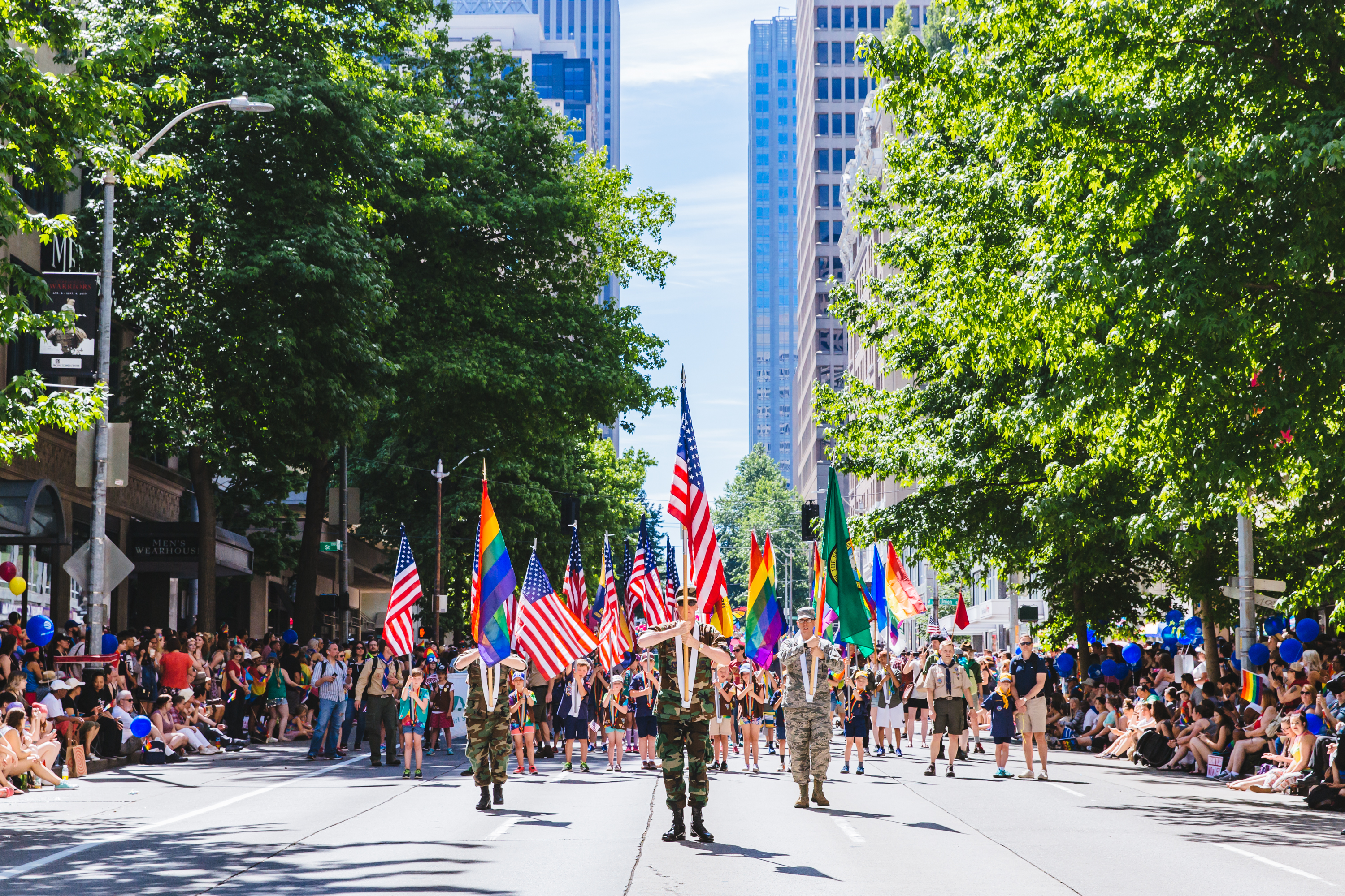 "2017 Seattle Pride Parade. We're celebrating what would have been the weekend of the{&nbsp;}<a  href=""https://www.seattlepride.org/"" target=""_blank"" title=""https://www.seattlepride.org/"">Seattle Pride Parade</a>{&nbsp;}with a look back at parades past and remembering all the joy and love they have brought our city! If you're missing it as much as we are - join in virtually!{&nbsp;}<a  href=""https://www.seattlepride.org/events/together-for-pride-seattles-virtual-pride"" target=""_blank"" title=""https://www.seattlepride.org/events/together-for-pride-seattles-virtual-pride"">Together For Pride - Seattle's Virtual Pride</a>{&nbsp;}event is being held Friday to Sunday, June 26-28, with speakers, performances and activities. See you next year! (Image: Sunita Martini / Seattle Refined)"