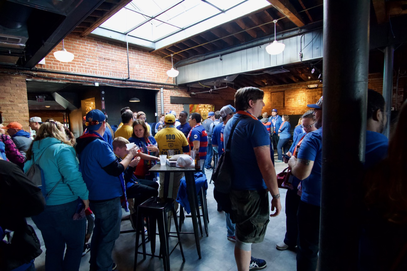 Top Cat's resurrection comes with an added twist: soccer. Yes, Top Cats is now the tailgate and away-match watching locale for The Pride—FC Cincinnati's largest supporter group. The venue has also doubled as a podcast recording studio when Cincinnati Soccer Talk held a live podcast with FC Cincinnati GM and President Jeff Berding there. ADDRESS: 2820 Vine Street (45219) / Image: Brian Planalp // Published: 12.3.18