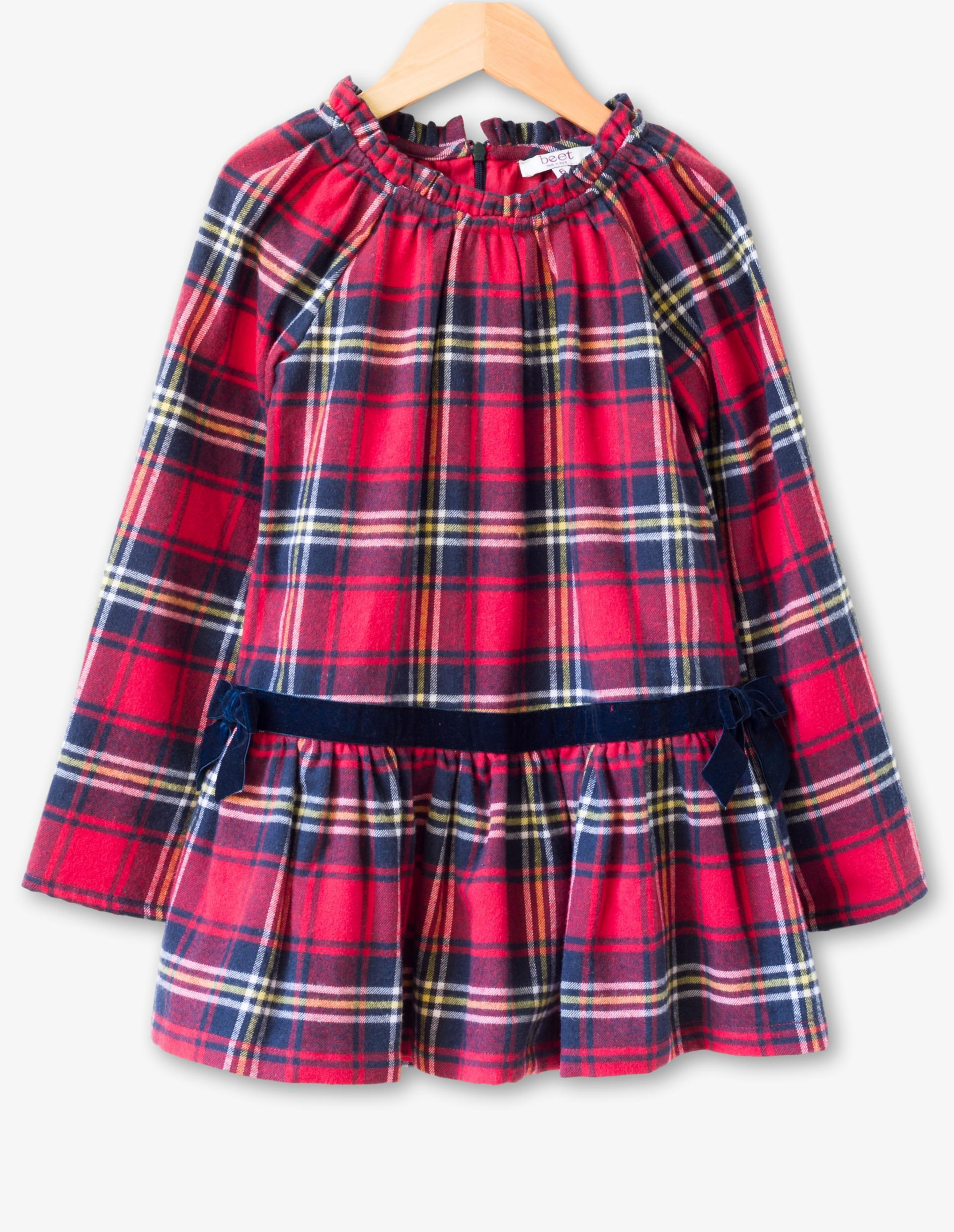 <p>If you want something more festive go for this Juniper Dress in Red Plaid from Beet World.{&nbsp;}{&nbsp;} This features delicate ruffles at the neck, long flared sleeves, relaxed low waist and velvet bow detail.{&nbsp;} Perfect for Santa pics! Price: $50 (Image: Beet World )</p><p></p>