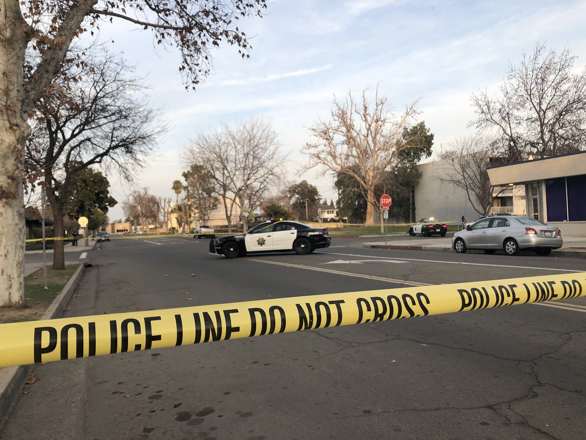 The Fresno Police Department is investigating a possible shooting in Downtown Fresno near Mariposa and R Street.{ }