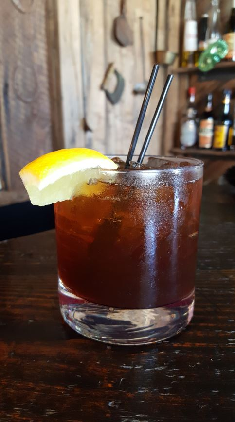 The Katie Jane elevates the played out Rum and Coke with local One Eight Vodka, which tempers the sweetness from the Borschi Liqueur, a bittersweet Italian spirit. (Image: Courtesy McClellan's Retreat)