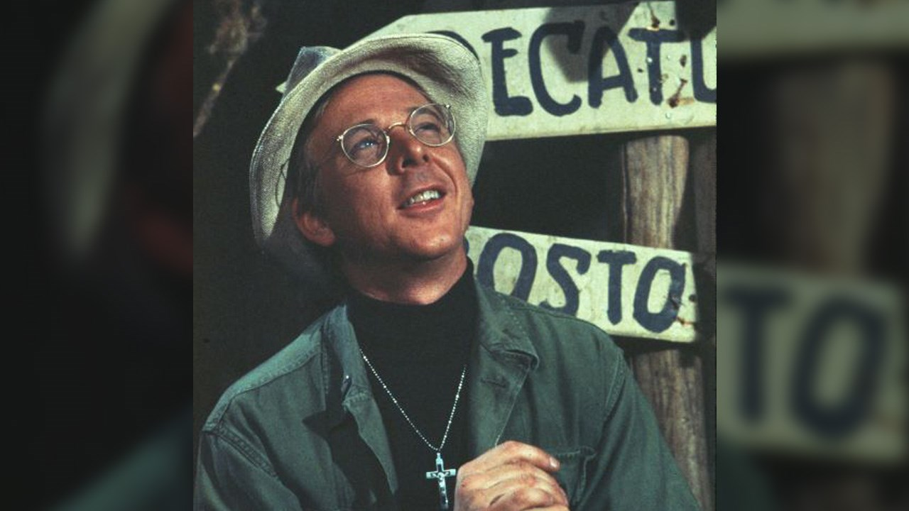 William Christopher was an American actor known for playing Father Mulcahy on the television series M*A*S*H and Private Lester Hummel on Gomer Pyle, U.S.M.C., Photo Date: 1972 (Twentieth Century Fox/MGN)