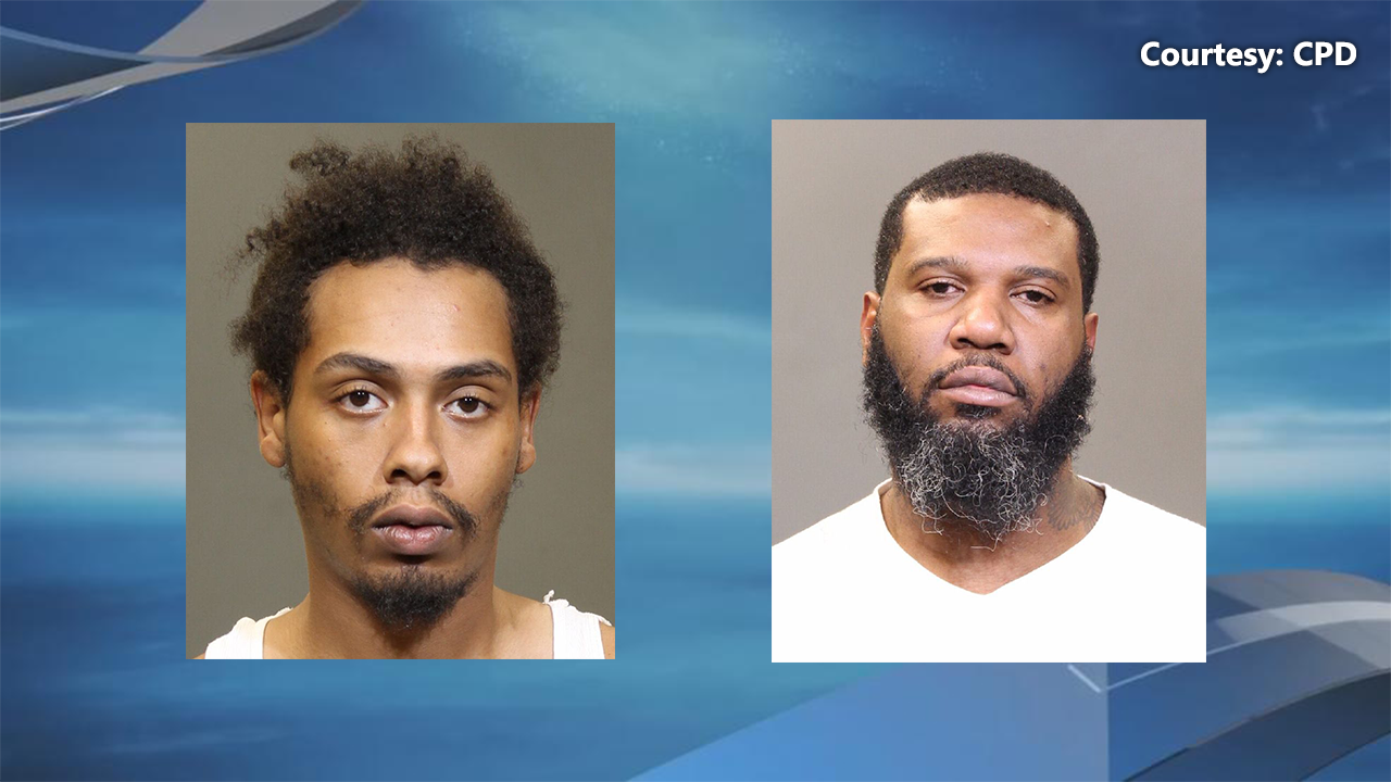 According to police, 35-year-old Desmond Lemelle Webster and 22-year-old Julius Ledale Anderson were charged with murder for the deaths of two people in west Columbus. (Courtesy: CPD)