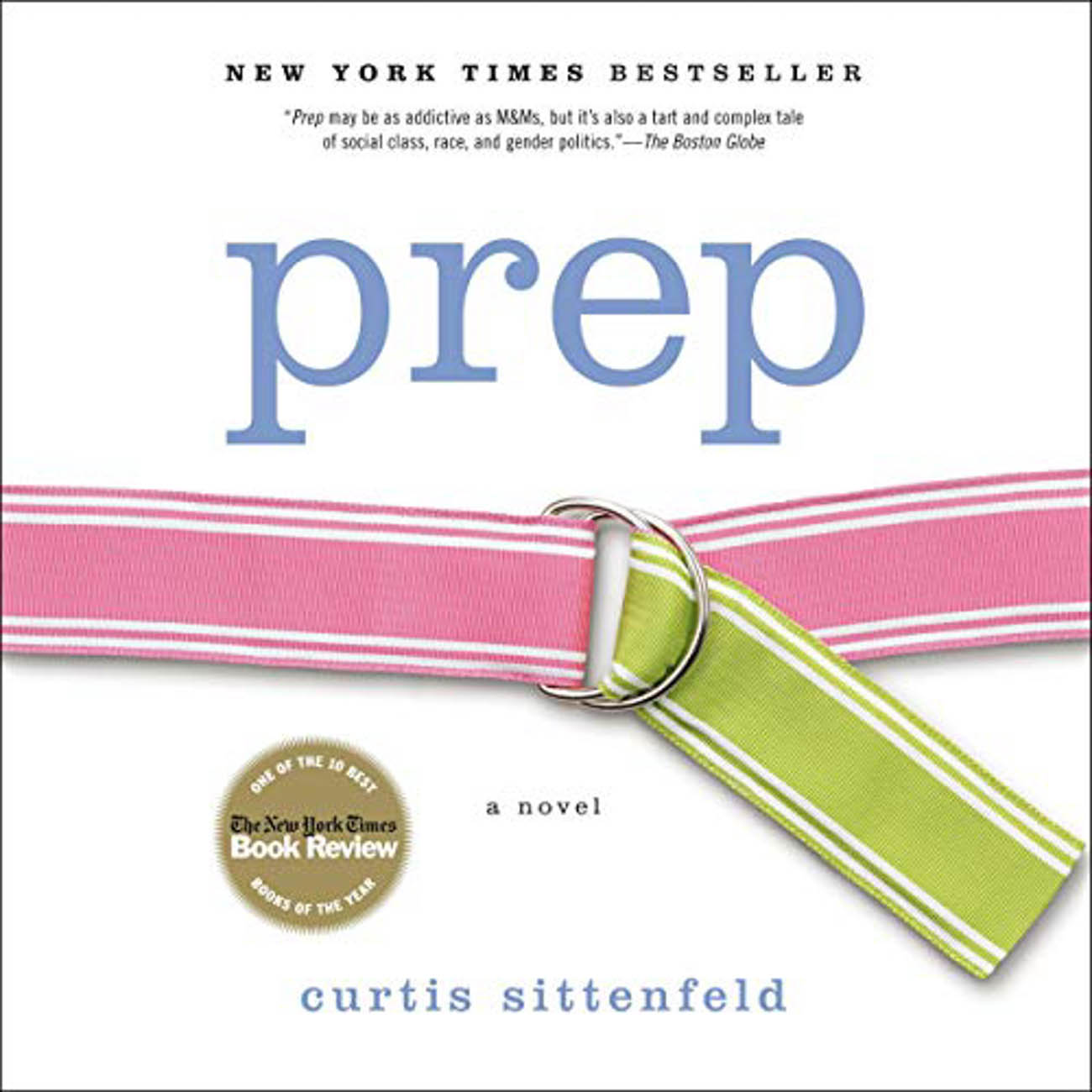 "Curtis Sittenfeld's debut novel, ""Prep,"" takes place at a competitive American boarding school where main character, Lee Fiora, navigates through adolescence and the pecking order of the snobbish establishment. / Image courtesy of Audible // Published: 3.23.20"