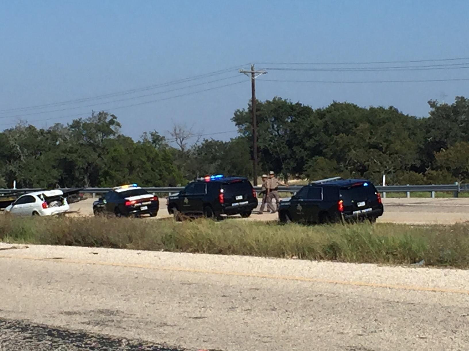 Multiple agencies are on-scene of a fatal shooting involving a Williamson County Sheriff's Office deputy Thursday afternoon. (CBS Austin)