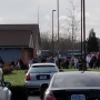 Around 100 Philomath High students walk out in Wednesday protest