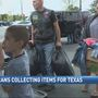 Donations for Texas exceed expectations at veterans' local drop-off spot