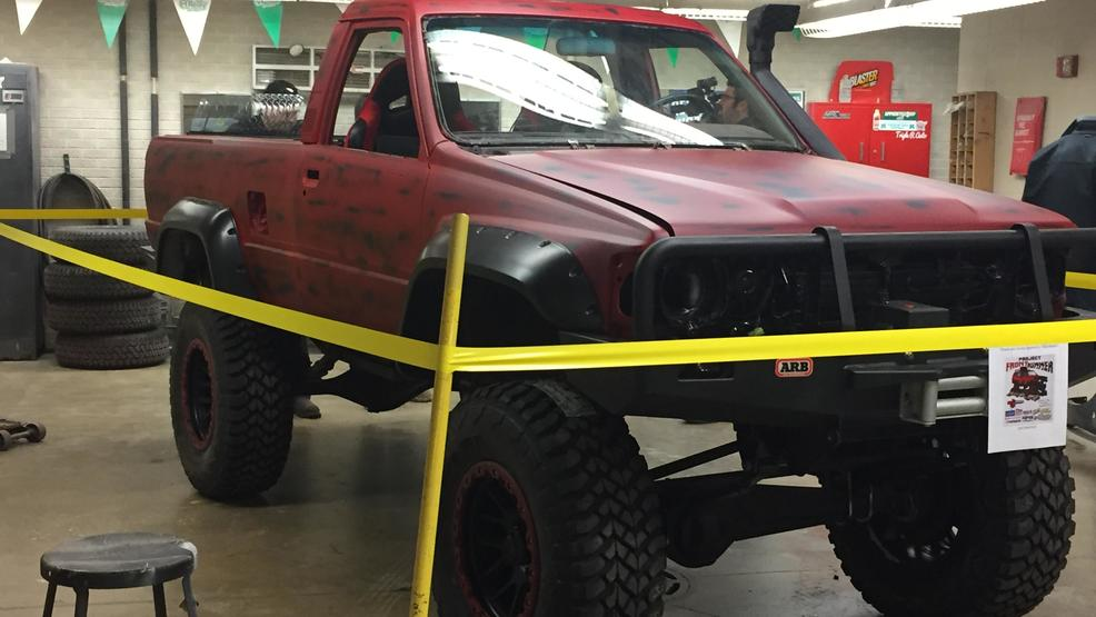 Rebuilt Truck Takes Freedom Students To Major Car Show WLUK - Major car shows