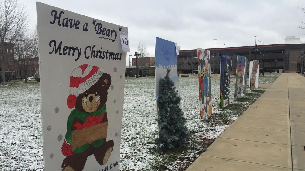Christmas Card Lane.Decatur Area Arts Council Invites Public To Stroll Down