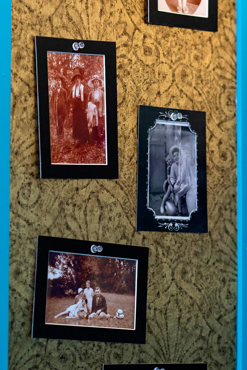 <p>The pictures around the restaurant come from family photo albums of owner Laurent Degois. / Image: Allison McAdams // Published: 8.19.19</p>