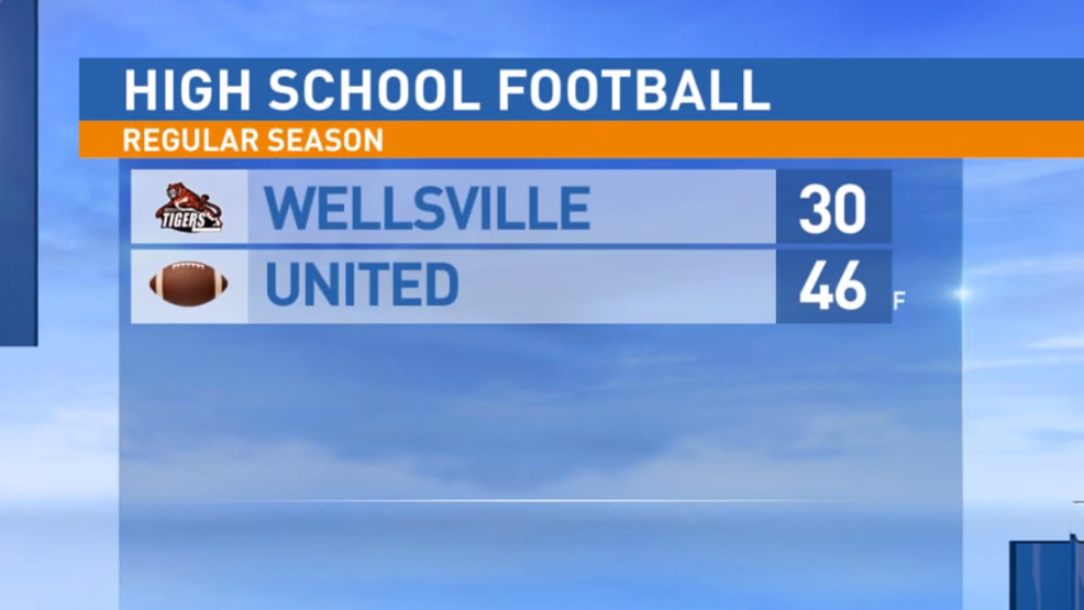 10.11.19 Highlights: Wellsville at United