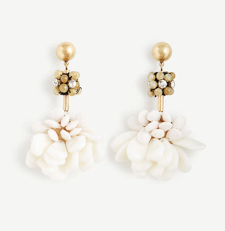 Ann Taylor Floral Statement Earrings, $49.50, anntaylor.com (Image: Courtesy Ann Taylor)