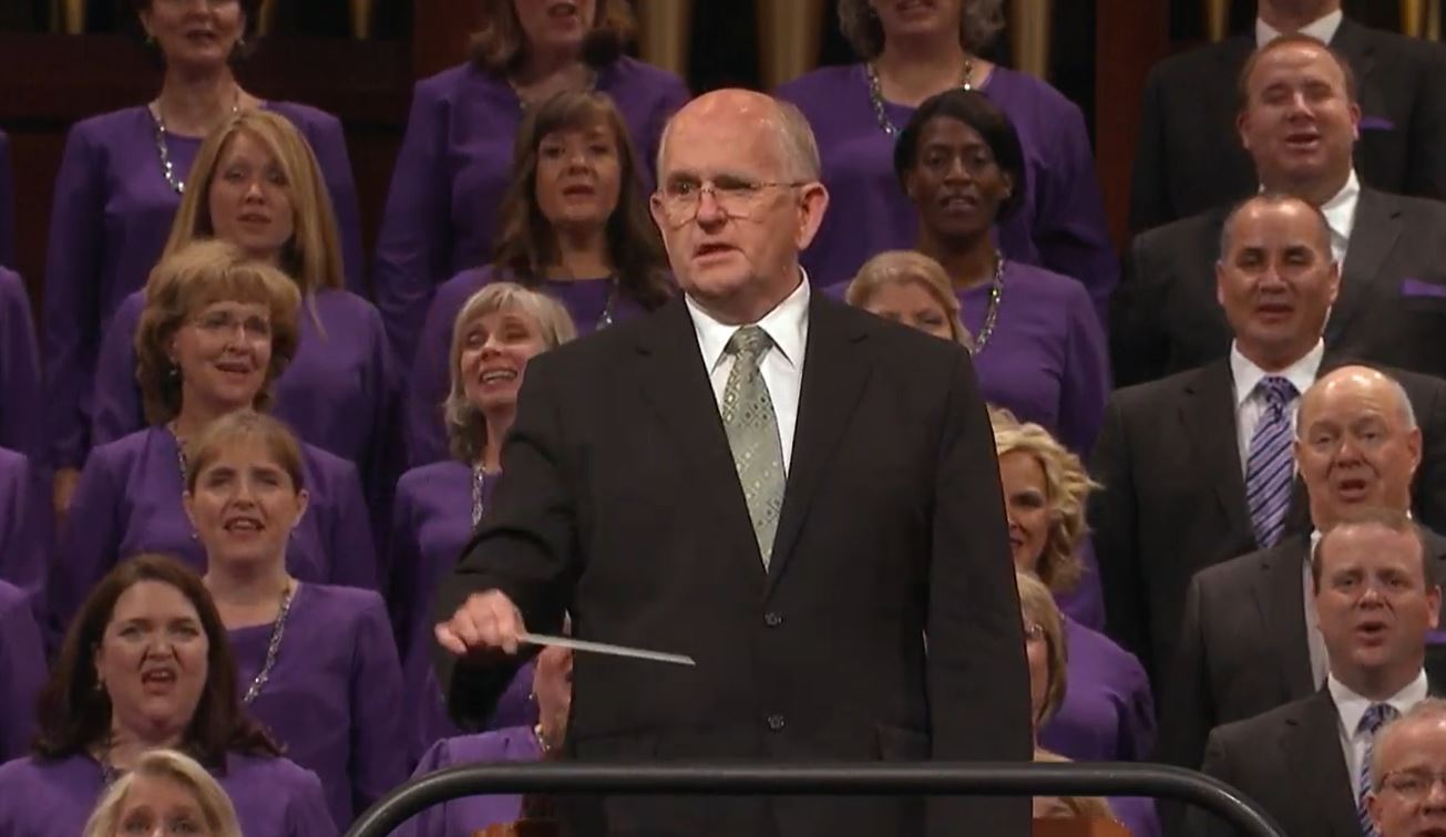 The Tabernacle Choir at Temple Square (Photo: YouTube / screengrab)<p></p>