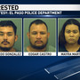 Three arrested after officers discover over 100 pounds of marijuana in east El Paso