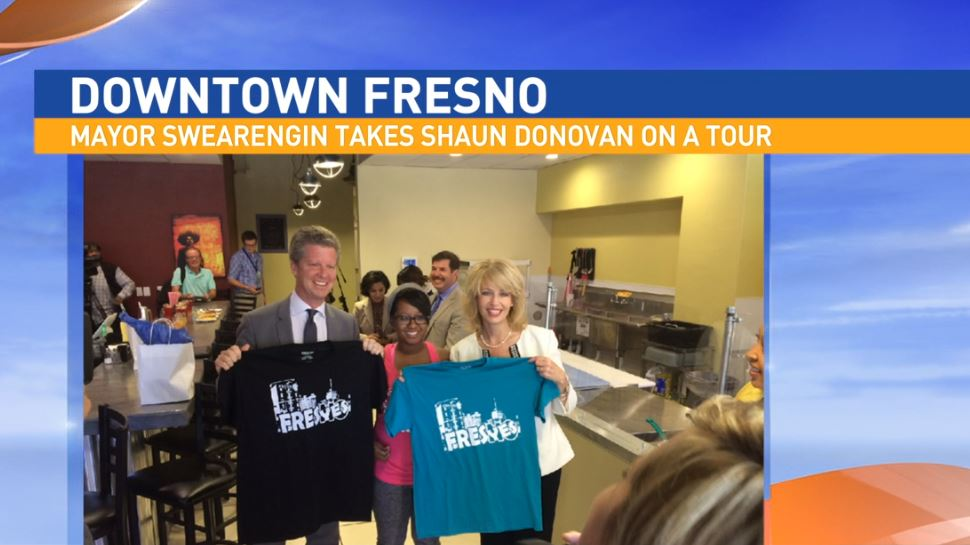 Director of Communications and Public Affairs for the City of Fresno, Mark Standriff, visited Great Day to talk about White House Cabinet member, Shaun Donovan's recent visit to Fresno