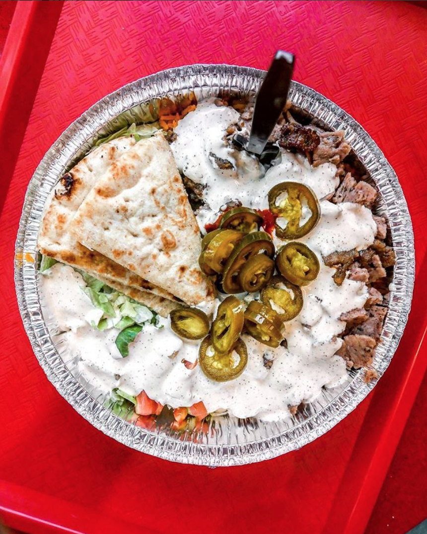 Food doesn't have to be fancy to look great - just ask The Halal Guys. (Image via @eatthecapital)